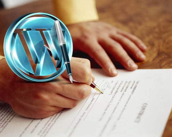 Wordpress Developer Client Contract Template