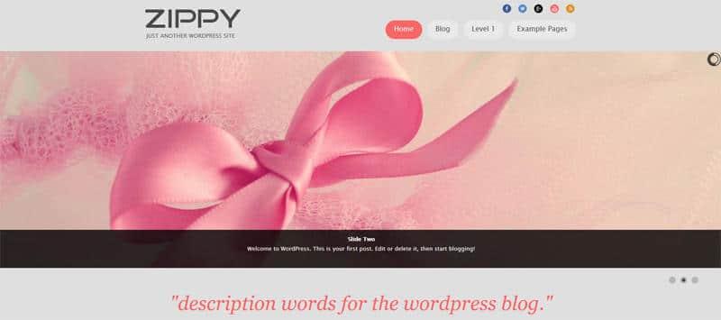 6 Cute-WordPress-Site