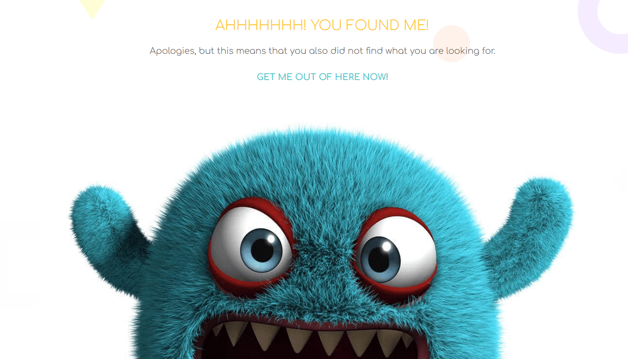 Custom WordPress 404 Error Page