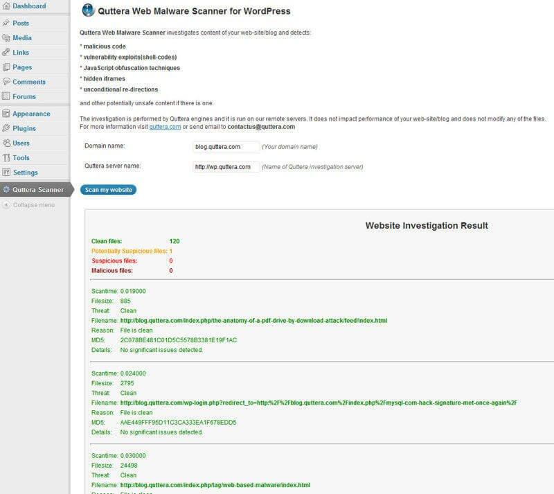 quttera-web-malware-scanner