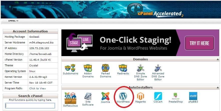 WordPress Hosting Setup 6