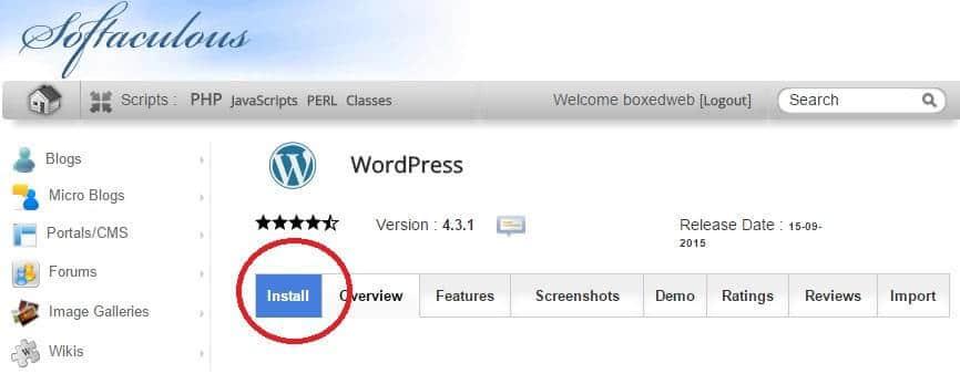 WordPress Hosting Setup 7