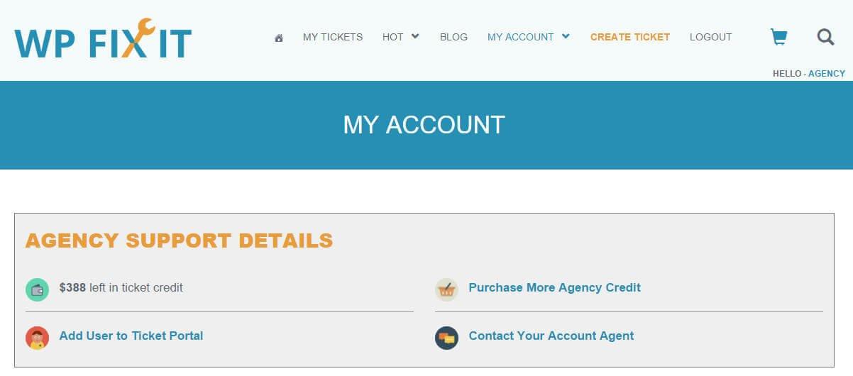 WordPress-Agency-Support-Credit