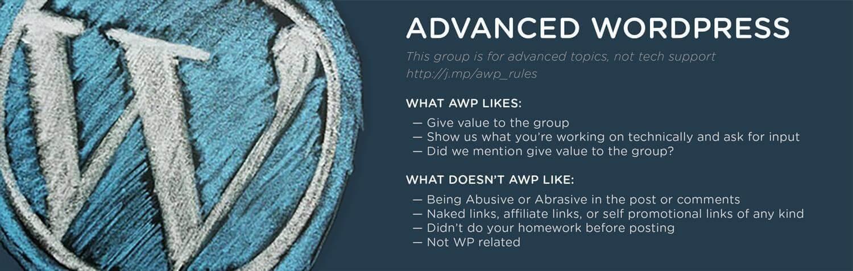 WordPress Facebook Groups