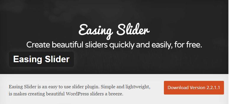 eaasing-slider