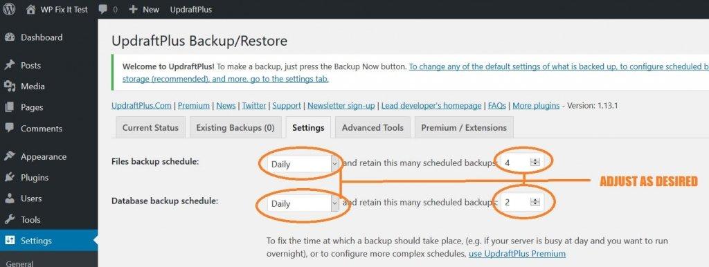 How to Backup WordPress Easy