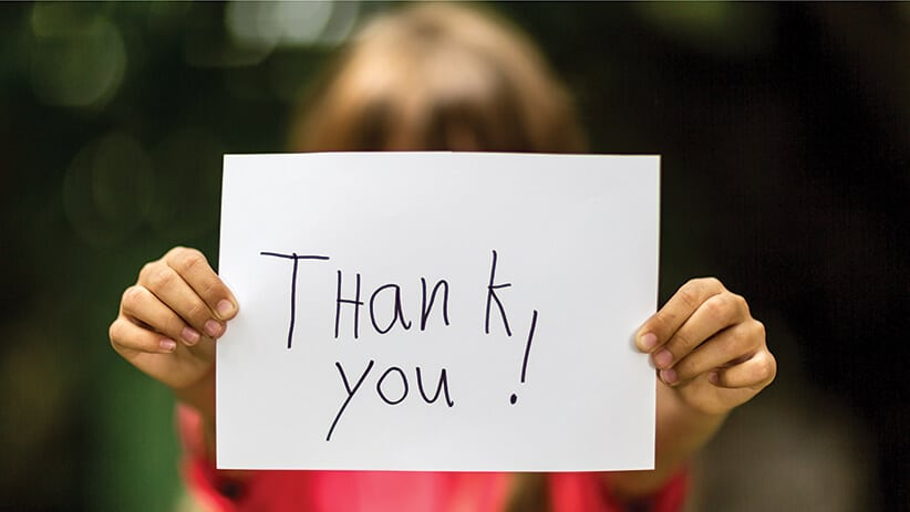 When Was The Last Time You Said Thank You