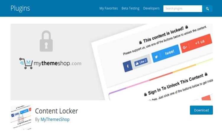 Top 7 Smart Content Locker WordPress Plugins For 2018