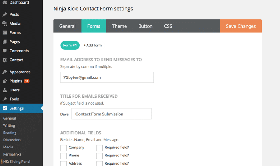9 Superb Contact Form Plugins For WordPress