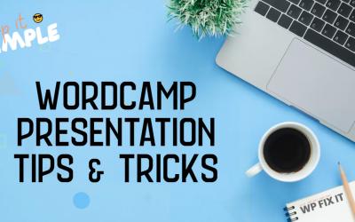How to Deliver a RockStar WordCamp Presentation