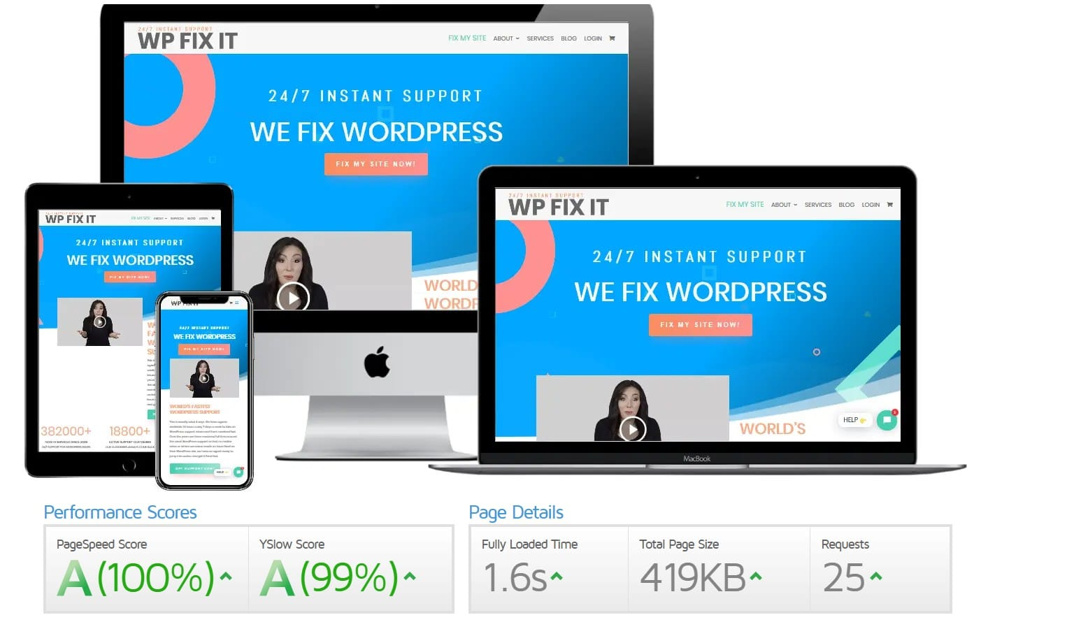 WordPress Speed Service