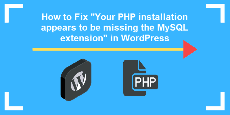Your PHP installation appears to be missing the MySQL extension which is required by WordPress.
