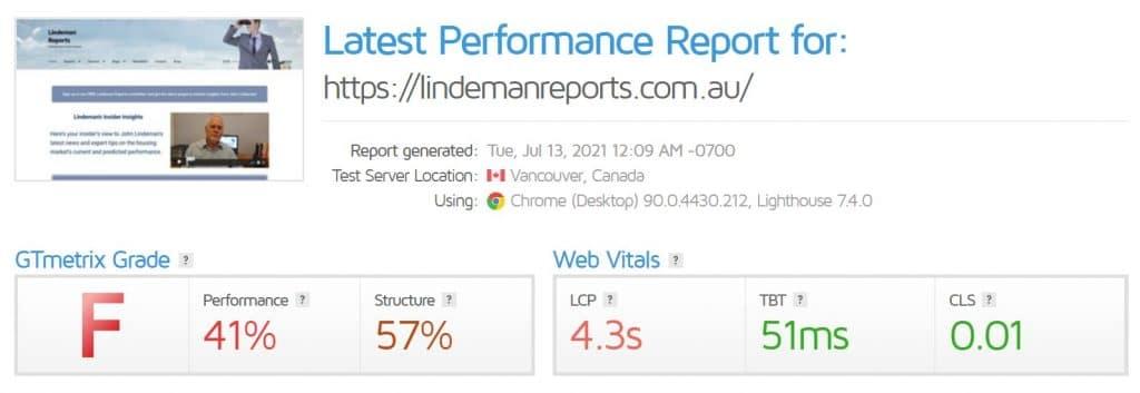 WordPress Speed Optimization Service 1